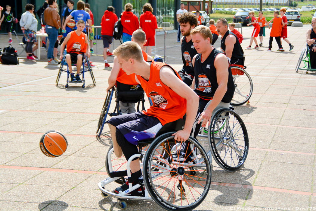 WE HERE Fryslân presenteert 3×3 basketball on wheels